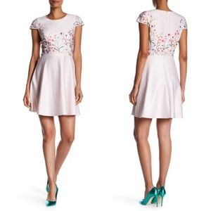 CeCe by Cynthia Steffe Hannah Floral Print Dress